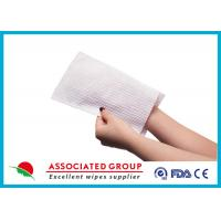 Soft Wet Wash Glove For Patients Manufactures