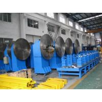 Tail Single Rotate Axis Welding Positioner Turntable 2 - 10m Distance Rotation Manufactures