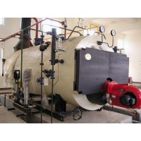 Three Pass Condensing Oil Heating Steam Boilers , Electric Or Natural Gas Boiler Manufactures