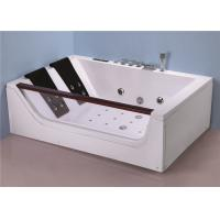 Ergonomic Bathing Jacuzzi Whirlpool Bath Tub With Optional Pump Location Manufactures