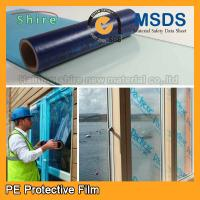 Uv Blocking Window Glass Covering Film , Scratch Resistant Film For Glass Anti - Aging Manufactures