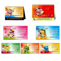 Glossy / matte lamination C1S / C2S, art / wood free paper Customized Calendar Printing Manufactures