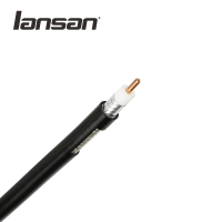 China 50% Braiding PVC Jacket RG6 Indoor Coaxial CCTV Cable on sale