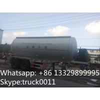 Quality CLW brand pneumatic cement-charging tank for sale,hot sale good price pneumatic cementing tank trailer for oil field for sale
