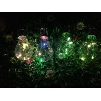 4LED RGB Solar Powered Color Changing LED Garden Lights 3500 - 5500K For outdoor