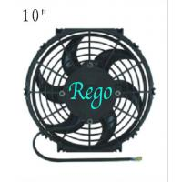 Customized Universal Radiator Cooling Fan Black Color Plastic Material Manufactures
