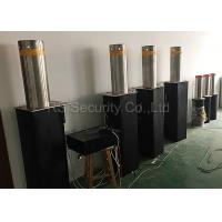 IP 68 AC220V Hydraulic Bollards Traffic Barriers Parking Auto Rising Bollards Manufactures