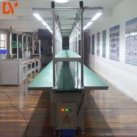750W Conveyor Production Line With Working Tables / Industrial Conveyor Belt Systems
