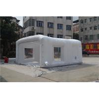 Giant White Display Inflatable  Tent With 210D Oxford Cloth SGS / EN71 Manufactures