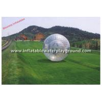 3m Dia Adults Inflatable Zorb Ball , Safety Zorb Globe With 1.0mm TPU or PVC Manufactures