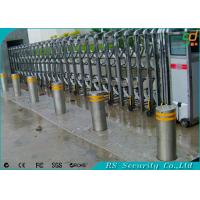 High Security Control Vehicle Metal Hydraulic Bollards CE SGS Rohs Approval Manufactures