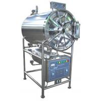 China Horizontal Cylindrical Steam Autoclave Sterilizer , Stainless Steel Pressure Steam Sterilizer on sale