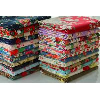 Buy cheap Bags Lining Fabric / Printed Cotton Canvas With Fine Plain Woven Technics from wholesalers