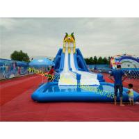 hot summer giant inflatable water slide for sale Manufactures