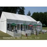 A Shaped Marquee Party Tent Fire Resistant For Restaurant Catering Use Manufactures