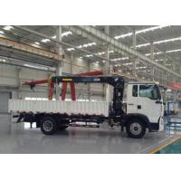 China Heavy Duty Truck Mounted Crane 5 Tons SINOTRUK For Landscape Sanitation on sale