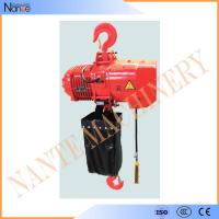 4 Ton / 8 Ton Electric Chain Hoist / Hoist Lifting Machine With Electric Trolley Manufactures