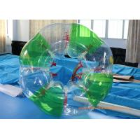 China Colorful stripe  Inflatable Bumper Ball Football Sports , Bubble Soccer Ball With  CE on sale