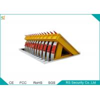 Security Retractable Barrier Gate Automatic Folding Hydraulic Road Blocker Manufactures