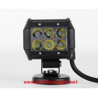 4 inches 12V water proof IP67 18W off road LED light bar,led lights for trucks Manufactures