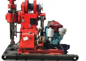 Hydraulic Water Well Drilling Rig 180m Depth Drilling For Geotechnical Investigation Manufactures