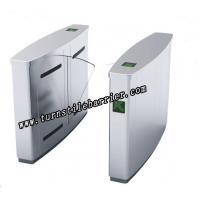Quality Turnstile Security Systems Flap Barrier Gate For Pedestrian Passage Management for sale