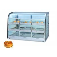 ND-1380 Tray Cabinet / 3-Layer Food Warmer Showcase For Bread Shop Manufactures