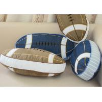 100% Cotton Personalized Fashion Gifts Embroidered Patchwork American Football Manufactures