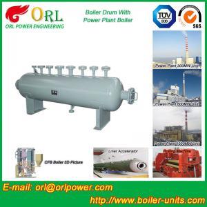 Mining Industry Electrical Water Boiler Mud Drum ISO9001 ASME / EN Passed Manufactures