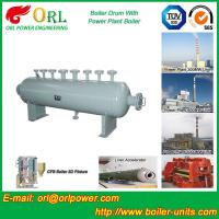 Buy cheap Mining industry electrical water boiler mud drum ISO9001 from wholesalers