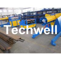 Carbon steel, GI Economical Simple Type Slitting Machine With 30KW, 30m/min Speed Manufactures