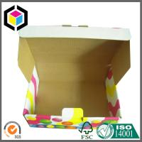 Litho Colorful Print Custom Design Corrugated Cardboard Shipping Box; Mailing Box Manufactures