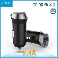 wholesale output 2.4 A mIcro usb car charger with dual USB Manufactures
