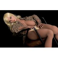 167mm Golden Hair Sex Silicon Doll Full TPE Big Boob Sex Love Company Manufactures