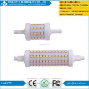 High lumen Slim LED R7S lamp 360 degree R7S led 5w 78mm 10w 118mm 15w 189mm r7s led Manufactures