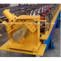 Half-round Seamless Gutter Roll Forming Machine High Speed Chain Transmission 16 Stations Manufactures