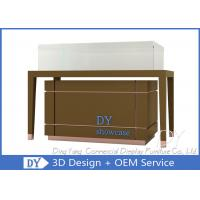 High End Glass Jewellery Showcase / Jewelry Counter Furniture Manufactures