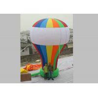 0.45mm PVC Tarpaulin Inflatable Advertising Balloons Rainbow Color Manufactures