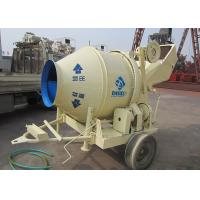 Construction Mobile Electric Concrete Mixer Rotating Climbing Tipping Bucket JZC450 Manufactures