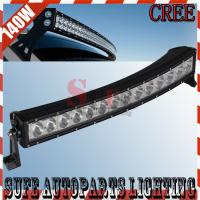 31.5inch Curved 140W CREE LED LIGHT BAR Offroad Truck 4X4 LED Work Light Spot Flood Combo Manufactures