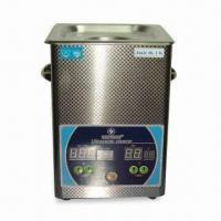 2.5L Ultrasonic Cleaner with 50W Power, Adopts Digital Display Timing and Heating Function Manufactures