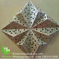 Hollow Decorative Custom Aluminum Panel Facade Wall Cladding Facade Ceiling Patterned Manufactures