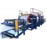 Eps / Rock Wool Sandwich Wall Panel Roll Forming Production Line / Machine Manufactures