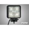 Auto 15W 12V 1200LM diecast Aluminum Cree emergency LED vehicle Work lamp / led spotlight 1200Lumen high quality Manufactures