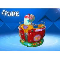 2 Players Rotating Kiddy Ride Machines / Amusement Park Equipment Wing Car Games Manufactures