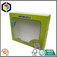 Clear Plastic PET Window Glossy Color Print Cardboard Carton Packaging Box Strong Style Manufactures