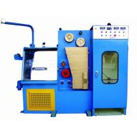 Online Wire Annealing Machine For Fine Wire Range 0.08mm To 0.25mm Compact Wire Drawing Line Manufactures