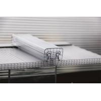 U Lock Corrugated Polycarbonate Sheets R Structure Shape OEM / ODM Available Manufactures