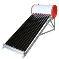 Buy cheap 100liter non pressure evacuated tube solar water heater from wholesalers