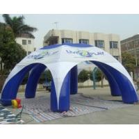 Custom Spider Tight Party Inflatable Tailgate Tent 8x8x4 With Six Legs Manufactures